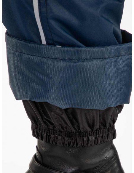 стакан - защита от грязи и влаги в  синем детском полукомбинезоне Тедди
