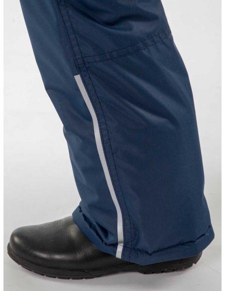 "светоотражающая полоса  - темно-синие брюки ""Лайк"""