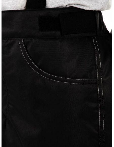 """Черные брюки """"Джинн"""" - карман"""