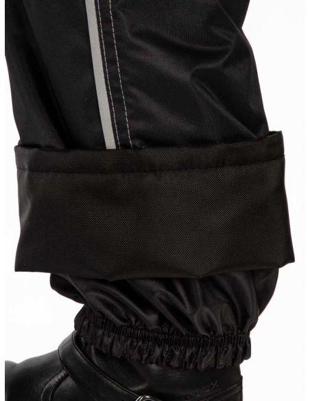 """Черные брюки """"Джинн"""" -  защитный манжет  от влаги, снега и грязи"""