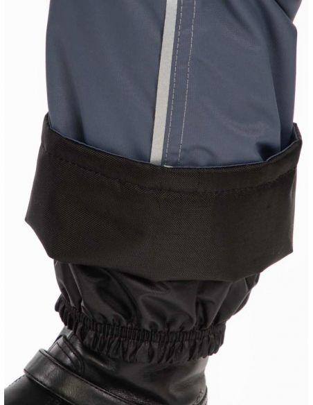 """Серые брюки """"Джинн"""" - защитный манжет  от влаги, снега и грязи"""