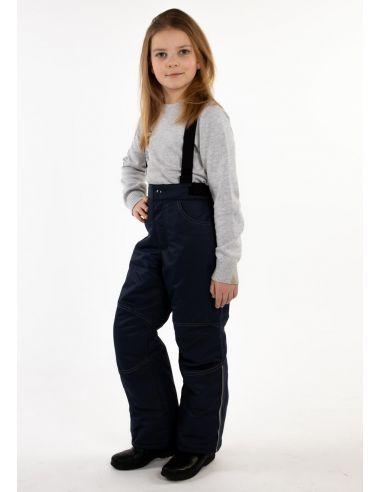 """Темно-синие брюки """"Джин"""""""