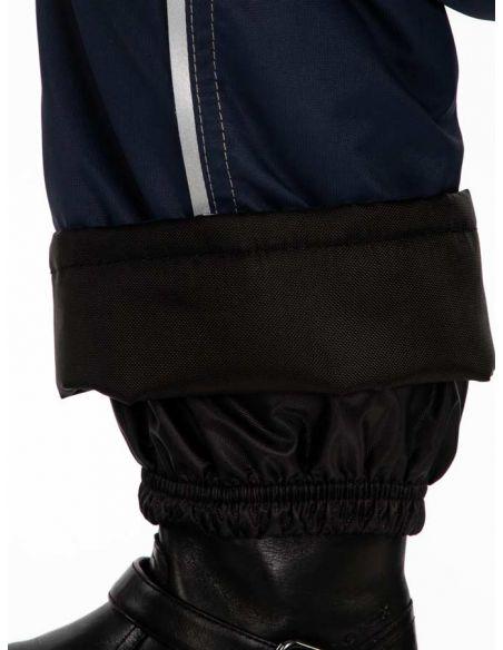 """Темно-синие брюки """"Джинн"""" - защитный манжет  от влаги, снега и грязи"""