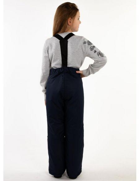 """Темно-синие брюки """"Джинн"""""""