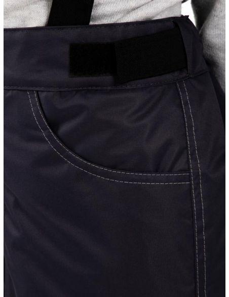 "Темно-серые брюки ""Джинн"" - карман"
