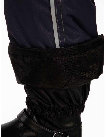 "Темно-серые брюки ""Джинн"" - защитный манжет  от влаги, снега и грязи"