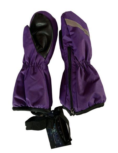 фиолетовая мембрана Варежки-краги на молнии