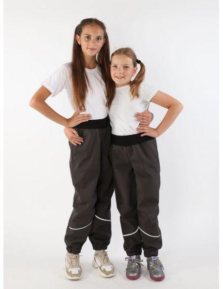 темно-серые брюки Джоггеры