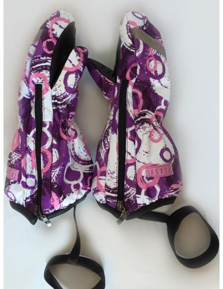 фиолетовые круги